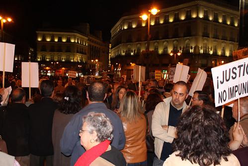 Concentración contra la impunidad del Franquismo (28/10/2010)