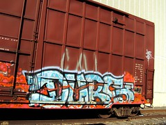 durs (+PR+) Tags: railroad yards trains spraypaint railfan freight boxcars railcars rollingstock rxr benching durs graffitichicago