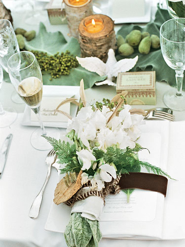 Wedding Birch Bark Veranda