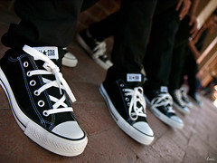 Kicks (awallphoto) Tags: arizona shoes dof 28mm az olympus depthoffield converse ft kicks f2 e3 zuiko allstar chucks 43 zd 14mm fourthirds awall 1435mm aaronwallace awallphoto