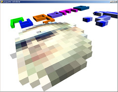 OpenGL sample code for PyGame