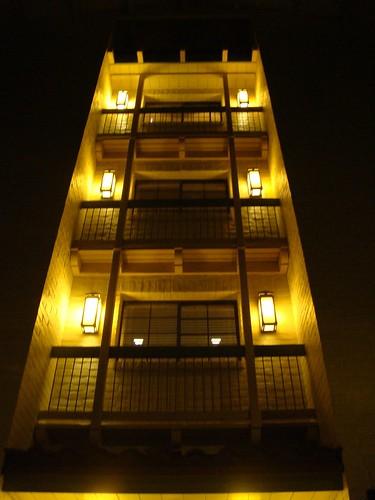 飯店的一隅