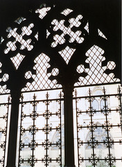 cloisters (mudlark5) Tags: windows london westminsterabbey pattern cloister grilles quatrfoil