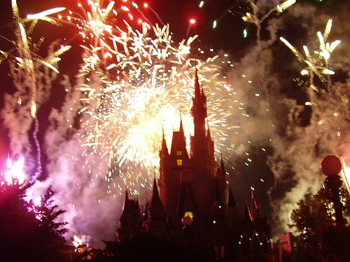 115 - Los fuegos artificiales en Magic kingdom