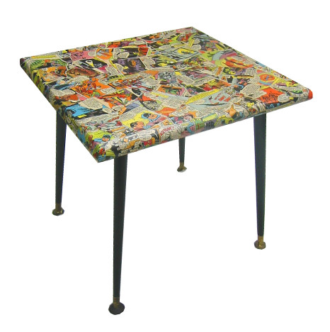 Comic side table