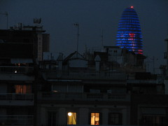 Get dressed! Its Time to Go (elveiga2) Tags: barcelona edificios torre agbar