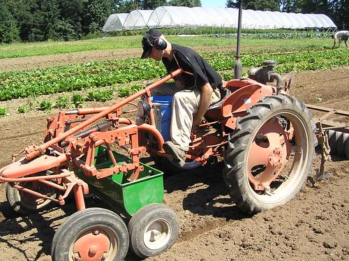 Scott seeding cover crops