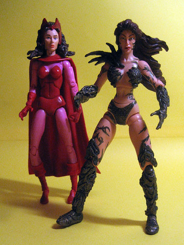 Scarlet Witch and Witchblade