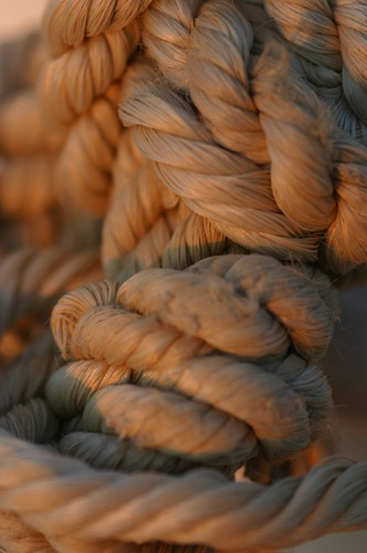 Rope in Tight Knots