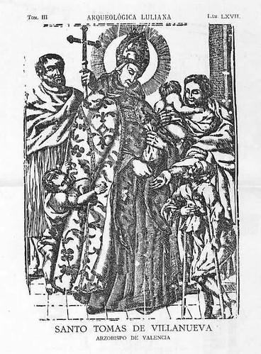 Santo Tomás de Vilanueva