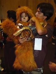 Expo Coleccionistas 2007 (laap mx) Tags: baby girl mexico starwars mexicocity df nia bebe wtc ciudaddemexico chewbacca distritofederal expocoleccionistas