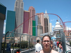 In front of New York New York (normajean4312) Tags: las vegas 7297 7277