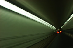 Ft McHenry Tunnel (DFChurch) Tags: longexposure green speed drive md driving maryland tunnel baltimore fortmchenry ftmchenry ftmchenrytunnel inthetunnel aplusphoto