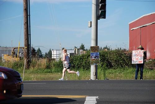 Leg 7: Sarah heading out