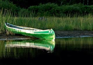 Canoeing the Turtle Flambeau Flowage