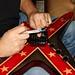 Washburn Boogie Street Custom guitar worked on by Fred Kowalo
