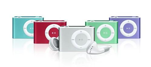 ipod shuffle mas colores