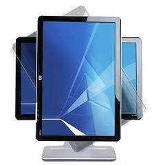 HP w2207 LCD 螢幕