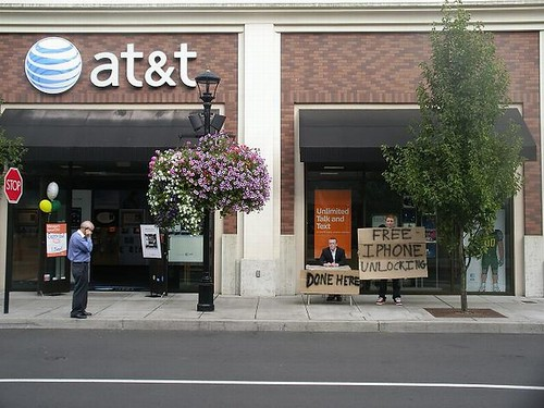 Unlock iphone near att shop