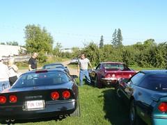 Vice President Run 2007 042 (redvette) Tags: corvette rivervalleyvettes redvette tomhiltz