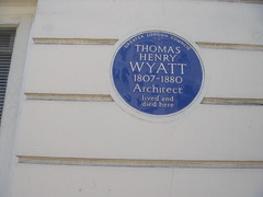 Photo of Thomas Henry Wyatt blue plaque