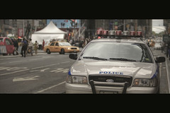 Show of force (Dj Poe) Tags: street new york city nyc cinema ny canon movie square eos is dj mark manhattan may police nypd scene ii 5d times usm cinematic poe 42nd 2010 70200mm f28l