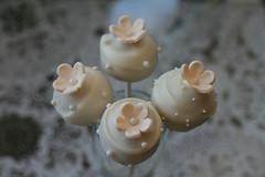 Wedding Cupcake Pops