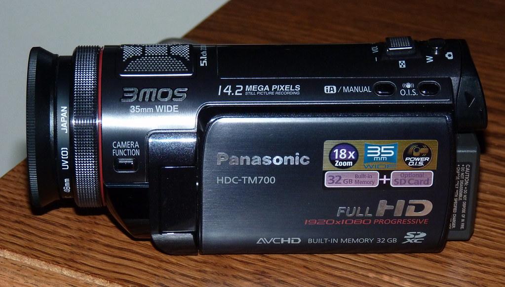 Panasonic HDC-700K High Def Video Camera
