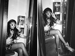 black girl coll (kviskvam) Tags: film diaryphotos nyc2010