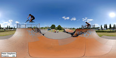 Flowerpot Skate Park (Peter Stephens Photography) Tags: panorama bike jump nikon cyclist 360 panoramic skatepark exeter skate trick interactive vr