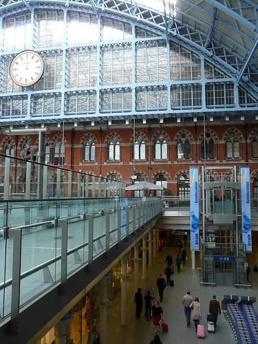Estação St. Pancras, Londres
