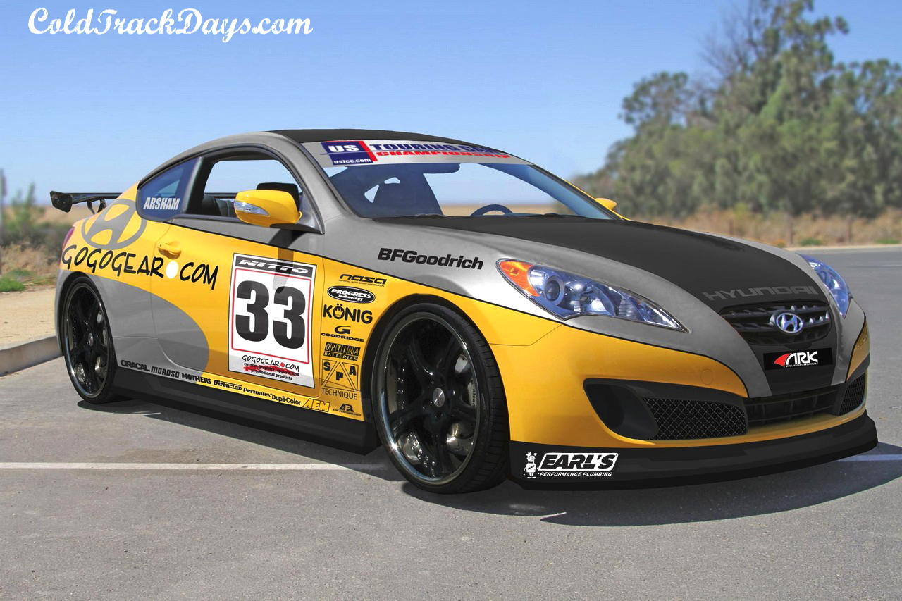 PREVIEW // GOGOGEAR'S HYUNDAI GENESIS COUPE