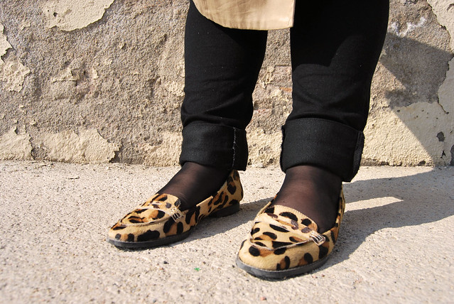 Leopard loafers 1