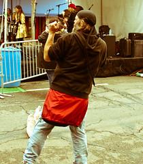Jungle Boogie (Keoki Seu) Tags: california usa festival berkeley concert dancers dancing band dancer eastbay freeconcert 2010 shattuck gourmetghetto northberkeley shattuckavenue spiceoflifefestival spiceoflife2010