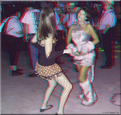 Cancun Cantina - Halloween '10 (starg82343) Tags: party halloween bar club fun costume stereoscopic 3d outfit md adult brian makeup dressup maryland anaglyph indoors stereo fantasy wallace inside hanover pretend stereoscopy daning stereographic brianwallace stereoimage harmons adultplay cancuncantina stereopicture