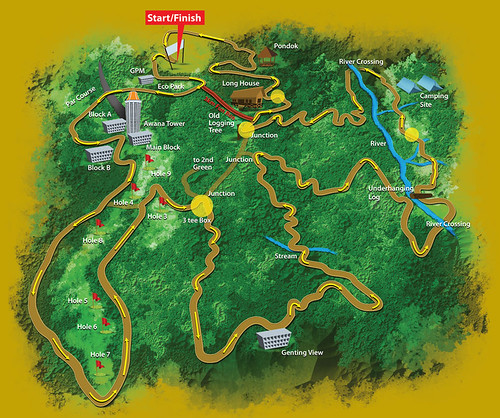 Genting Trailblazer 2010 - Adventure Map