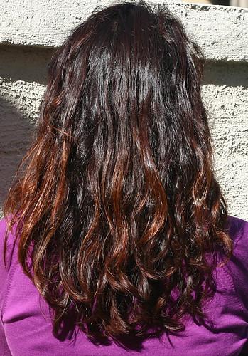 henna'd hair