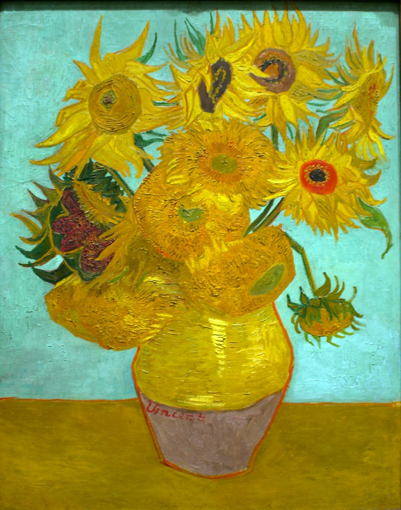 Sunflowers, 1888 or 1889, Vincent van Gogh, Dutch, 1853-1890.