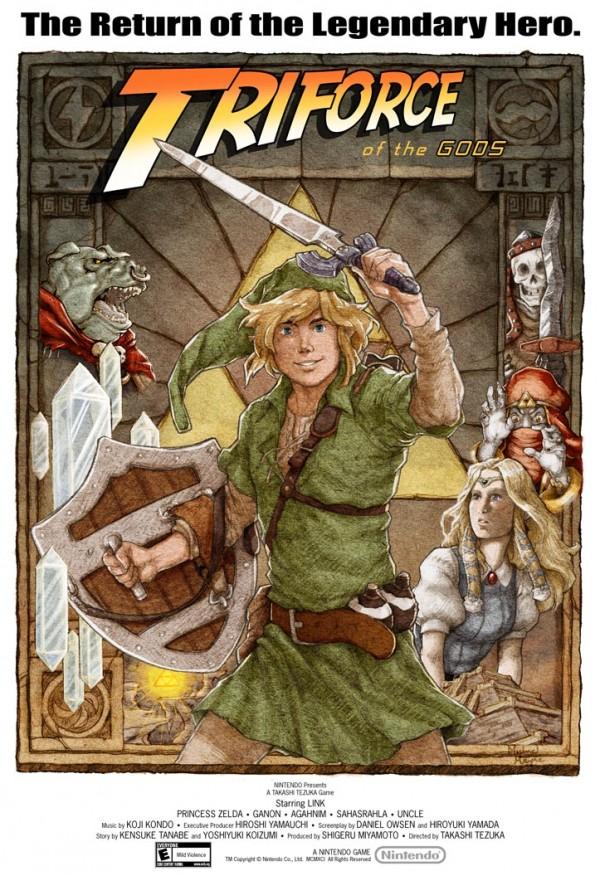 pósters cinematográficos de videojuegos 7