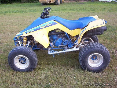 Suzuki Quadracer R Charger