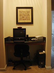 Computer desk (RLB865) Tags: computer chair crossstitch desk printer picture