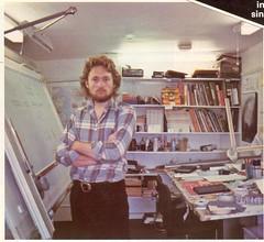 rickdrawing board1982 (Rick Dickinson) Tags: