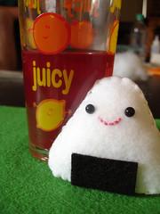 Onigiri!! (The Sposa Family) Tags: food ball japanese rice sticky felt softie swap onigiri stickyrice riceball stuffie