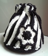 Yumi's drawstring bag