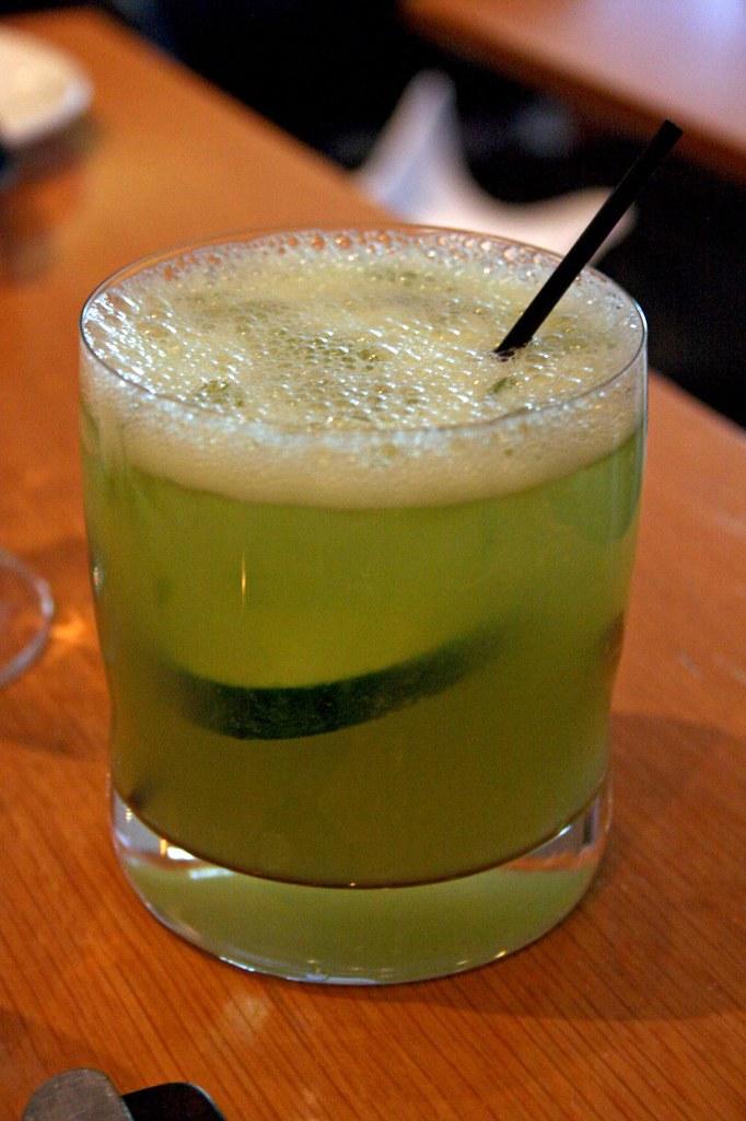 Cucumber Caipiroska
