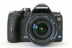 Olympus E-510 - Front