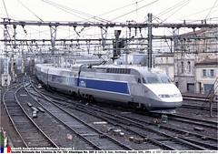 SNCF309GB_300103_01 (Catcliffe Demon) Tags: france europe railways sncf rpubliquefranaise socitnationaledescheminsdeferfranais tgvatlantique tgva frenchtrip1jan2003