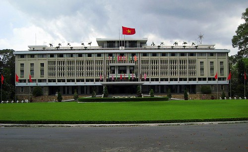 The Reunification Palace - formerly the Independence Palace