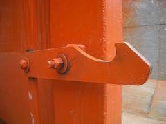Dumpster latch