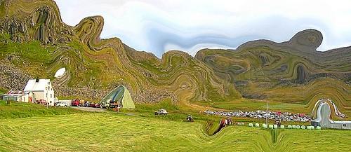 Garðstaðir við Ísafjarðardjúp